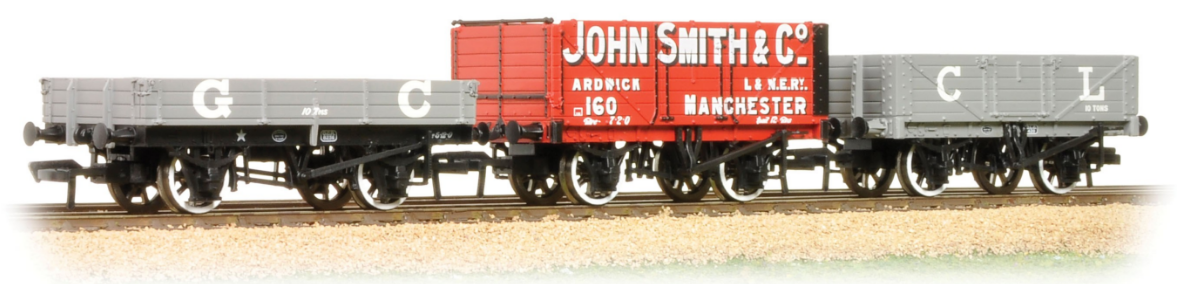 Bachmann 37-079K Triple Pack Great Central Wagons - Collectors Club