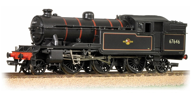 Bachmann 31-614 Class V3 2-6-2T 67646 BR lined black with late crest