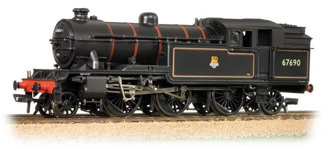 Bachmann 31-615 Class V3 2-6-2T 67690 BR lined black with early crest