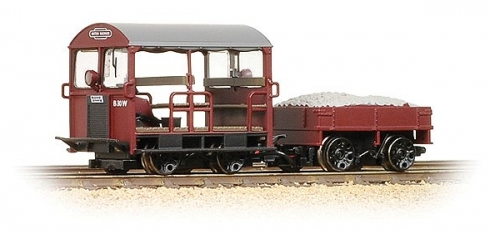 Bachmann 32-991 Wickham Trolley Car BR Maroon