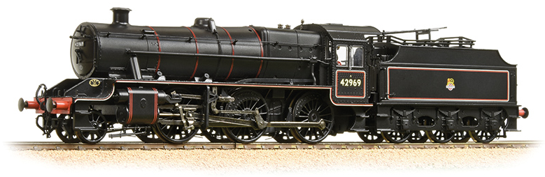 Bachmann 31-691 Stanier Mogul 2-6-0 42969 BR Lined Black with early crest