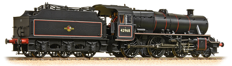 Bachmann 31-692 Stanier Mogul 2-6-0 42968 BR Lined Black with late crest (Preserved)