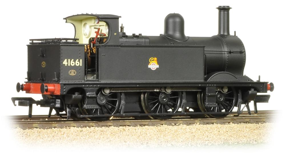 Bachmann 31-431 Class 1F 'Half Cab' 0-6-0T 41661 BR black with early crest