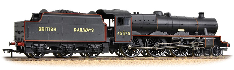 Bachmann 31-190 Jubilee Class 4-6-0 45575 'Madras' BRITISH RAILWAYS Lined Black