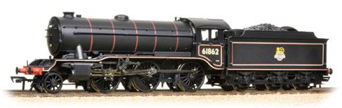 Bachmann 32-281 Class K3 2-6-0 61862 BR black with early emblem