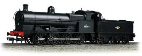 Bachmann 31-475 Class G2A Super D 0-8-0 49395 BR black with early emblem (National Collection)