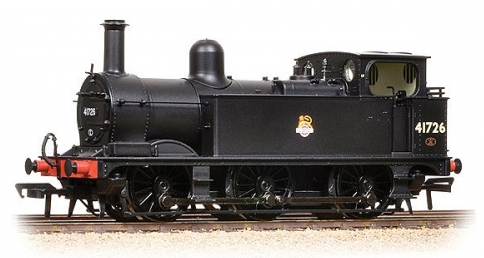 Bachmann 31-435 Class 1F 0-6-0T 41726 BR black with early emblem