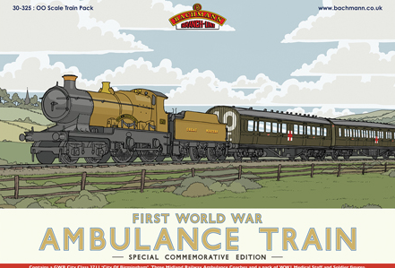 Bachmann 30-325 Ambulance Train No.40 Train Pack