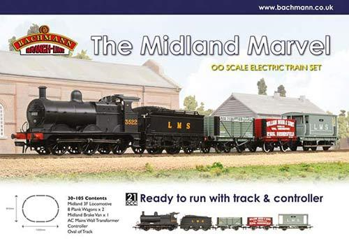 Bachmann 30-105 The Midland Marvel Train Set