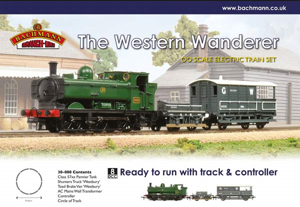 Bachmann 30-080 The Western Wanderer Train Set - Click Image to Close