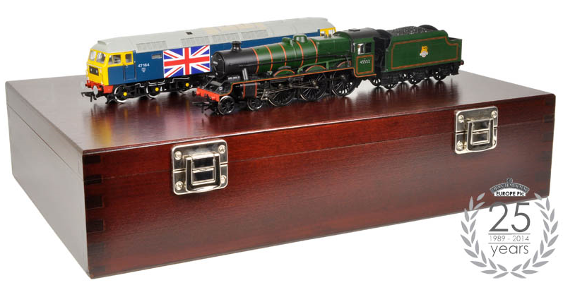 Bachmann 25-2014 Silver Anniversary Set - Limited Edition