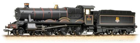 "Bachmann 31-783 Class 6959 Modified Hall 7904 ""Fountains Hall"" BR black with early emblem (weathered)"