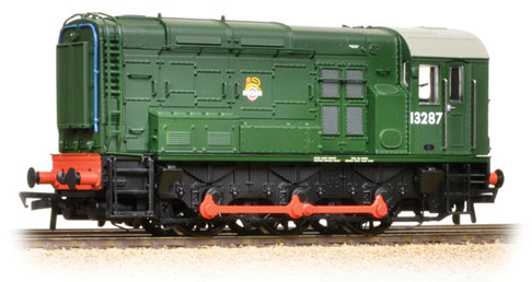 Bachmann 32-120 Class 08 Shunter 13287 BR Green with early crest