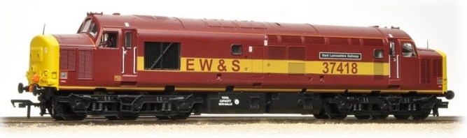 "Bachmann 32-381N Class 37/4 37418 ""East Lancashire Railway"" EWS - Limited Edition"