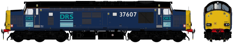 Accurascale Class 37/6 - 37607 (PRE-ORDER ONLY)