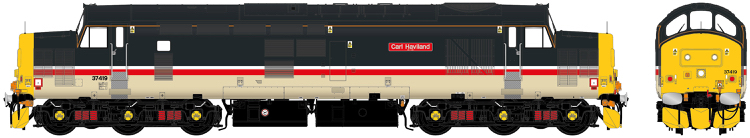 "Accurascale Class 37/4 - 37419 - ""Carl Haviland 1954-2012"" Intercity Mainline Livery - DCC Sound (PRE-ORDER ONLY)"