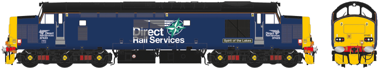 "Accurascale Class 37/4 - 37423 ""Spirit of the lakes"" DRS Simplified Compass Livery - DCC Sound (PRE-ORDER ONLY)"