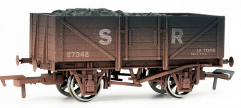 Dapol 4F-051-004 5 Plank Wagon SR 27348 Weathered