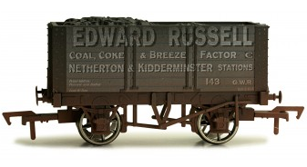 Dapol 4F-072-020 7 Plank Wagon Edward Russell weathered