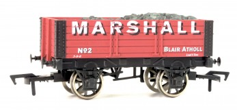 Dapol B767 5 Plank wagon in Marshall livery