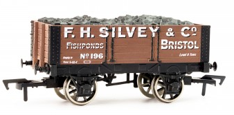 Dapol B572 7-plank open coal wagon F.H. Silvey & Co Bristol