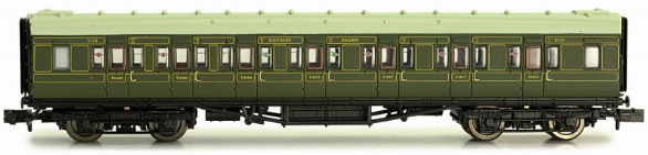 Dapol 2P-012-153 Maunsell Composite Coach SR Lined Green 5139