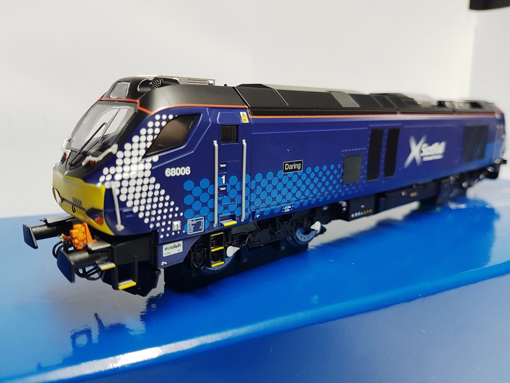 "Dapol 4D-022-009 Class 68 68006 ""Daring"" Scotrail Late Modified"