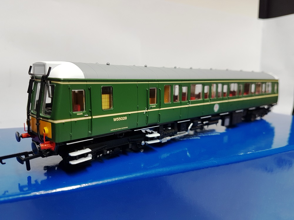 Dapol 4D-009-002 Class 121 Bubble Car W55028 BR Green with SYP