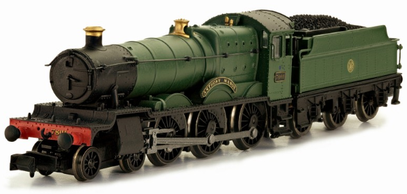 "Dapol 2S-001-001 Class 78xx Manor 4-6-0 7801 ""Anthony Manor"" GWR green with shirtbutton crest"