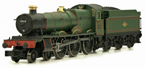 Dapol 2S-010-002 Class 49xx Hall 4-6-0 4914 'Cranmore Hall' BR lined green with late crest