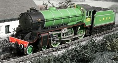 Dapol ND-120H Class B1 1225 LNER Apple Green