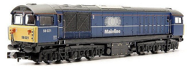 Dapol ND-103E Class 58 Co-Co 58021 Mainline Blue