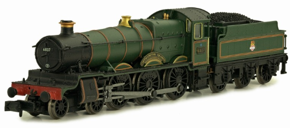 "Dapol 2S-019-005 Class 6800 4-6-0 6837 ""Forthampton Grange"" BR lined green with early crest"