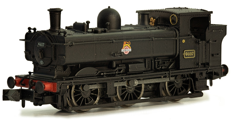 Dapol 2S-007-007 Class 57xx 0-6-0 Pannier Tank 4607 BR Black with early crest