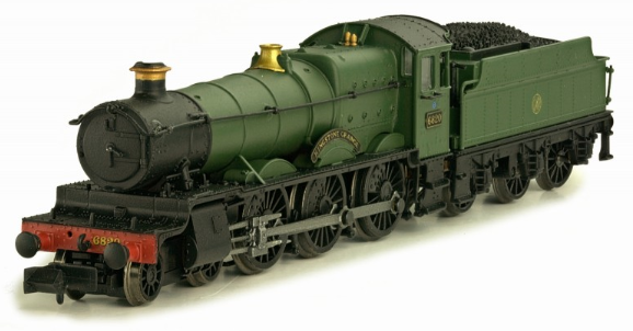 "Dapol 2S-019-001 Class 6800 4-6-0 6820 ""Kingstone Grange"" GWR green with shirtbutton crest"