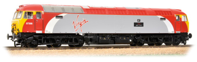 "Graham Farish 371-650A Class 57/3 57306 ""Jeff Tracy"" Virgin Trains"
