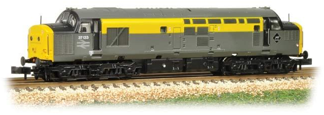 Graham Farish 371-456 Class 37/0 37133 BR Departmental Grey & Yellow