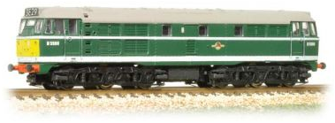 Graham Farish 371-111 Class 31 D5596 BR Green with small yellow ends