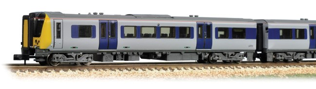 Graham Farish 371-700 Class 350/2 Desiro 4 Car EMU 350111 'Apollo' Silverlink (unbranded)