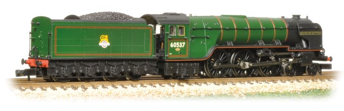 Graham Farish 372-387 Class A2 4-6-2 60527 'Sun Chariot' BR Green with late crest