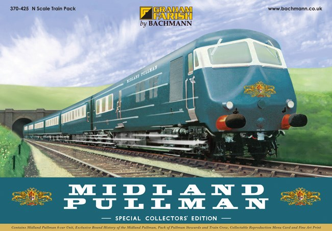Graham Farish 370-425 Midland Pullman Nanking Blue train pack - Collectors Edition