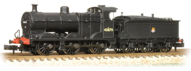 Graham Farish 372-062 Class 4F 0-6-0 43875 Johnson tender BR black with early crest