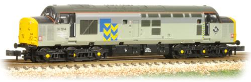 Graham Farish 371-167 Class 37/5 37514 Railfreight Metal Sector