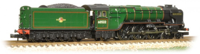 Graham Farish 372-388 Class A2 4-6-2 60532 'Blue Peter' BR Green with late crest