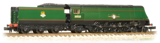 Graham Farish 372-311 Merchant Navy Class 4-6-2 35023 'Holland-Afrika Line' BR green with early crest