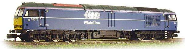 Graham Farish 371-351 Class 60 Diesel 60078 Mainline Blue