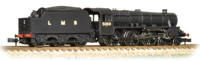 Graham Farish 372-138 Class 5 'Black Five' 4-6-0 5190 LMS Black