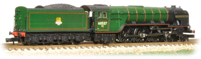 Graham Farish 372-386 Class A2 4-6-2 60537 'Bachelors Button' BR Green with early crest