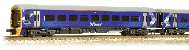 Graham Farish 371-558 Class 158 2 Car DMU 158871 ScotRail