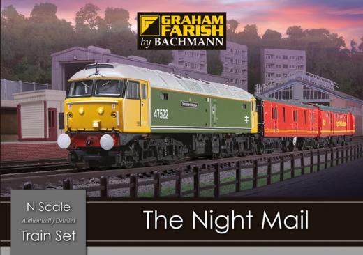 Graham Farish 370-130 The Night Mail Train Set